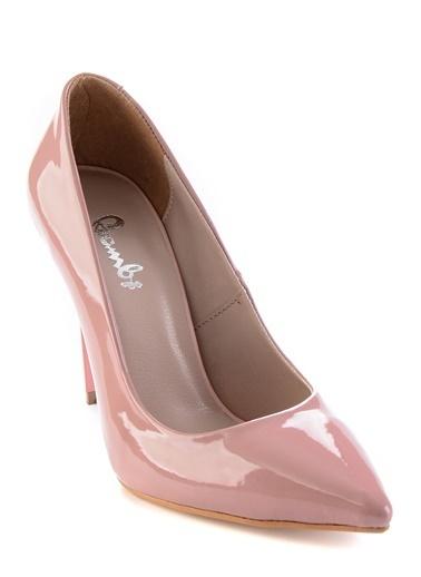 Bambi Topuklu Ayakkabı Somon